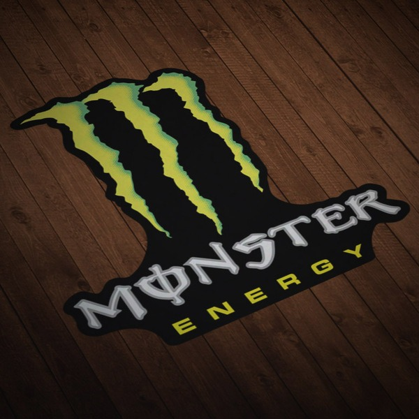 Car and Motorbike Stickers: Monster 2