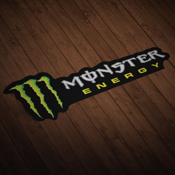 Car and Motorbike Stickers: Monster