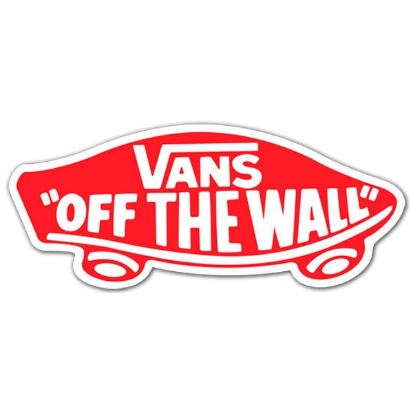 Sticker Surf Skate Vans off the wall 7