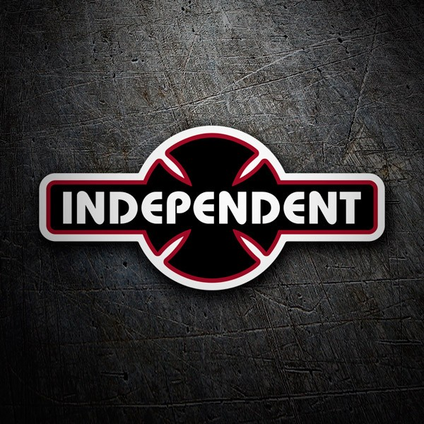 Car & Motorbike Stickers: Independent Truck Company retro black