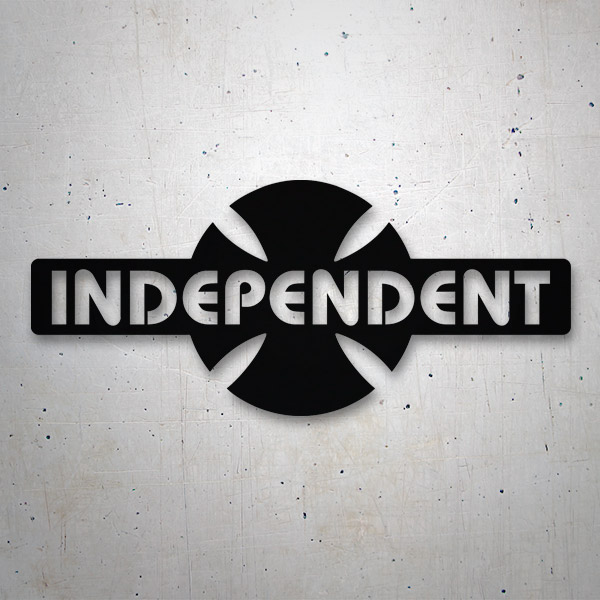 Car & Motorbike Stickers: Independent Truck Company retro
