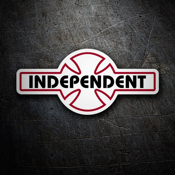 Car & Motorbike Stickers: Independent Truck Company special retro
