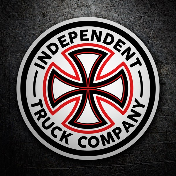 Car & Motorbike Stickers: Independent Truk Company Classic