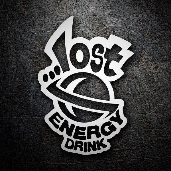 Car & Motorbike Stickers: Lost Energy Drink