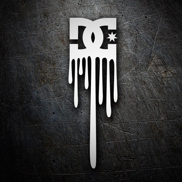 Car & Motorbike Stickers: Dc Shoes Vertical Logo