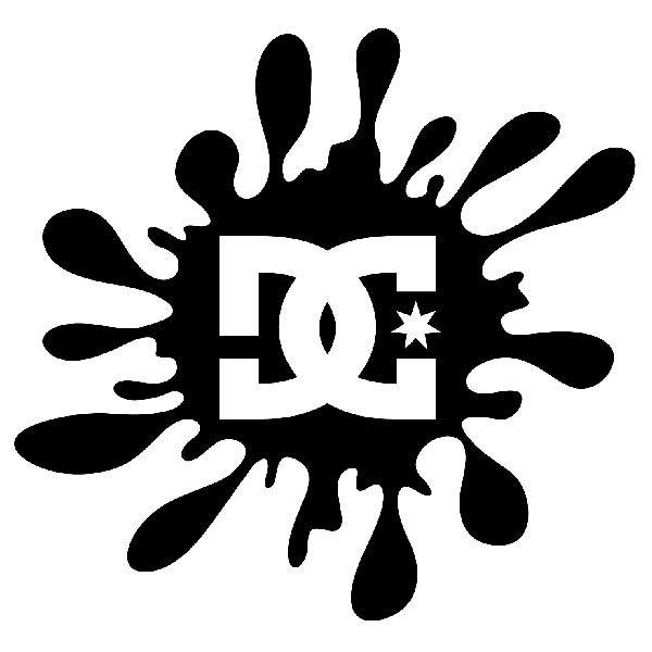 Car & Motorbike Stickers: DC Shoes Paint