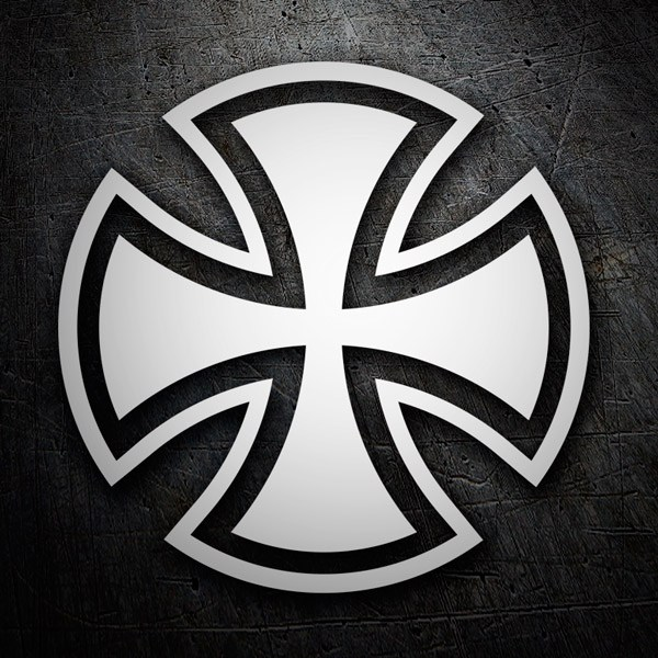 Car & Motorbike Stickers: Independent Truk Company Cross