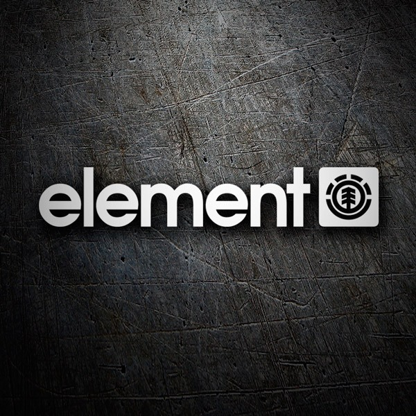 Car & Motorbike Stickers: Element classic