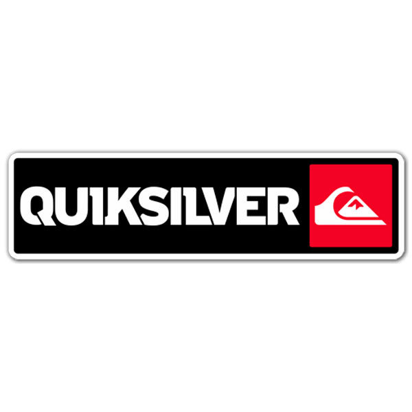 Car motorbike stickers quiksilver 3