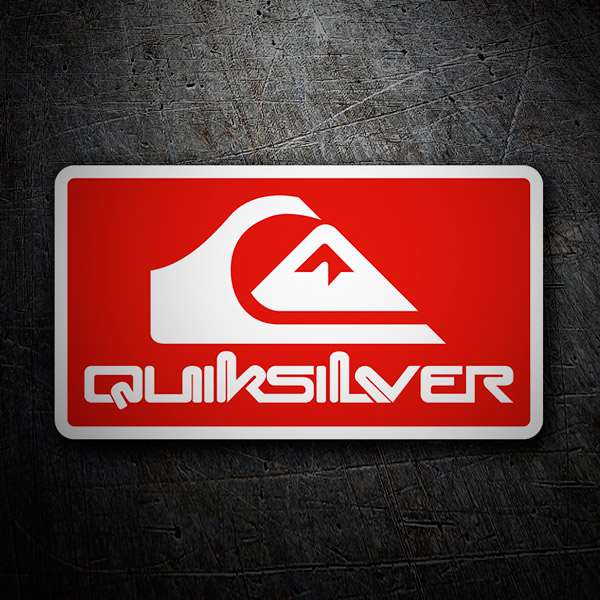 Car & Motorbike Stickers: Quiksilver 4