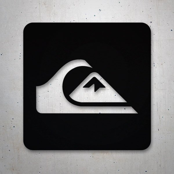 Car & Motorbike Stickers: Quiksilver Logo