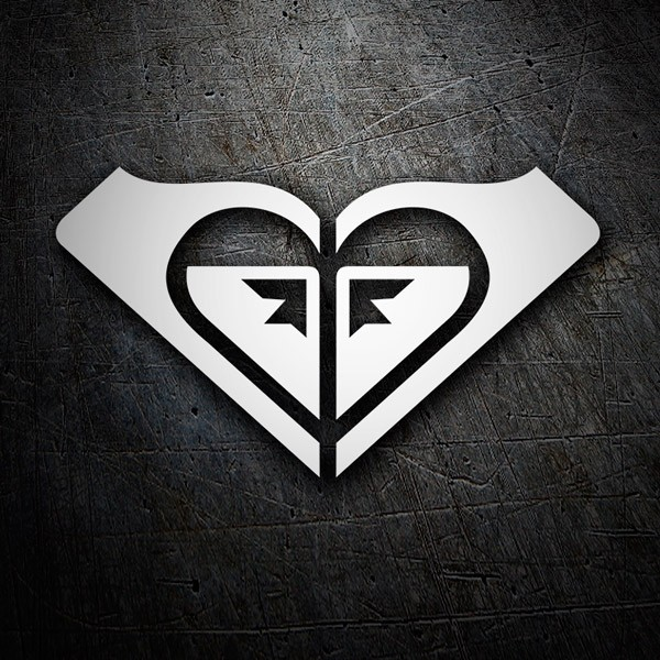 Car & Motorbike Stickers: Roxy Logo