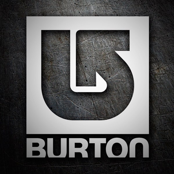 Car & Motorbike Stickers: Burton Classic