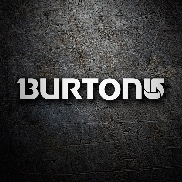 Car & Motorbike Stickers: Burton Snow