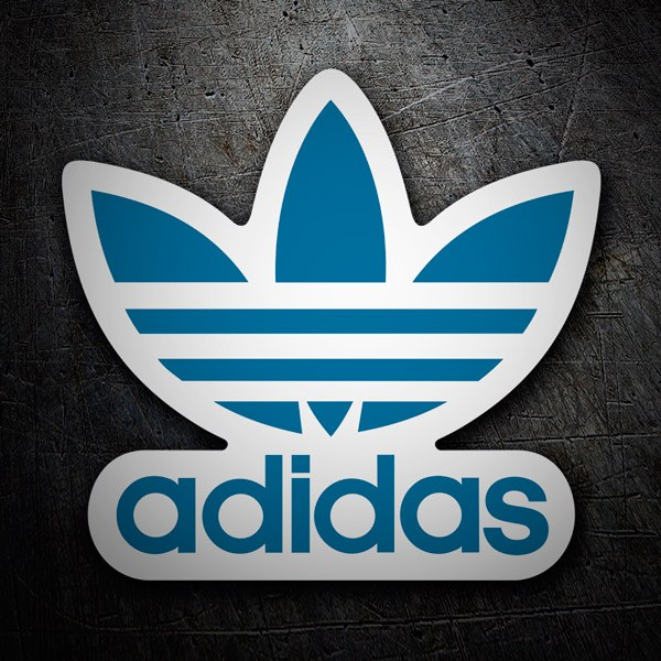 Car & Motorbike Stickers: Adidas logo