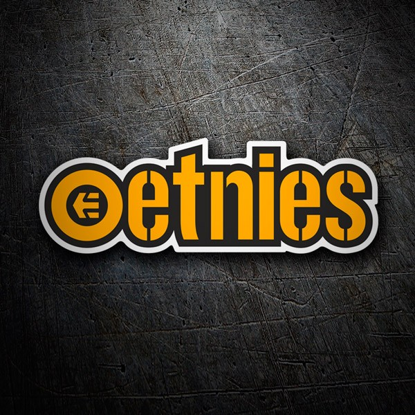 Car & Motorbike Stickers: Etnies 2