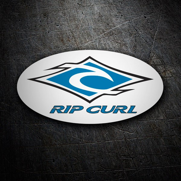Car & Motorbike Stickers: Rip Curl 6