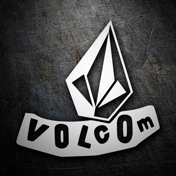 Car & Motorbike Stickers: Volcom abstract