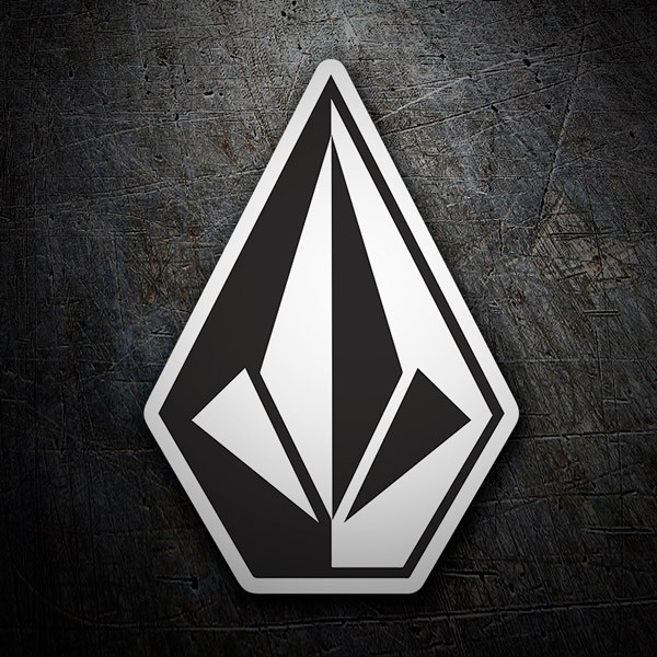 Car & Motorbike Stickers: Volcom Logo