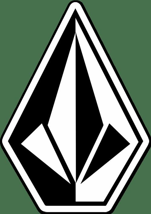 Sticker Surf Skate Volcom Diamond 3 Muraldecal Com