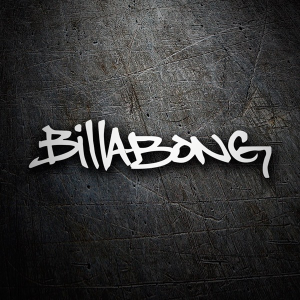 Car & Motorbike Stickers: Billabong graffiti