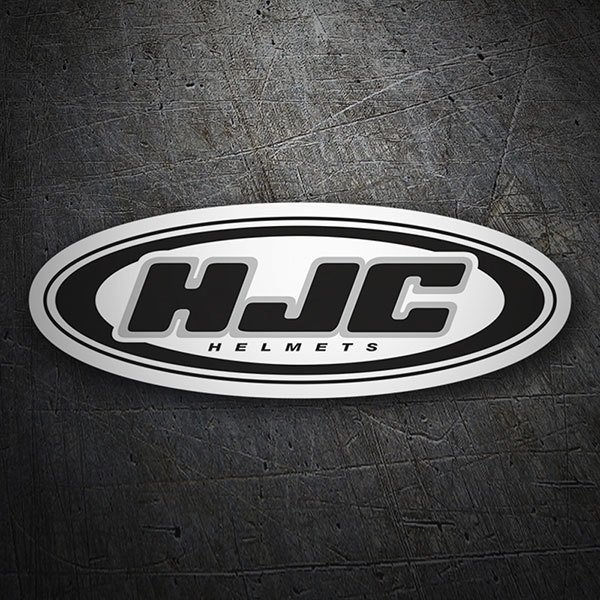 Car & Motorbike Stickers: HJC Helmets