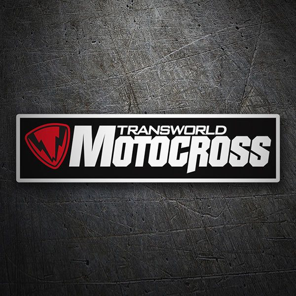 Car & Motorbike Stickers: Transworld Motocross