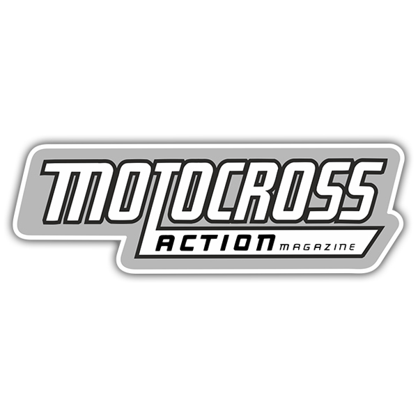 Car & Motorbike Stickers: Motocross Action