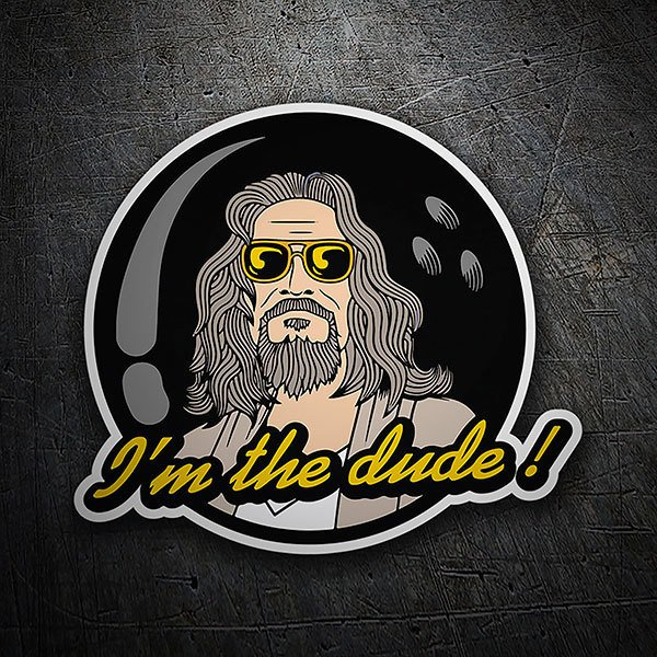 Car & Motorbike Stickers: I'm the Dude!