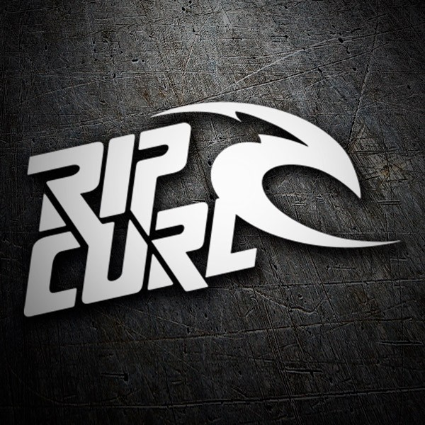 Car & Motorbike Stickers: Rip Curl 5