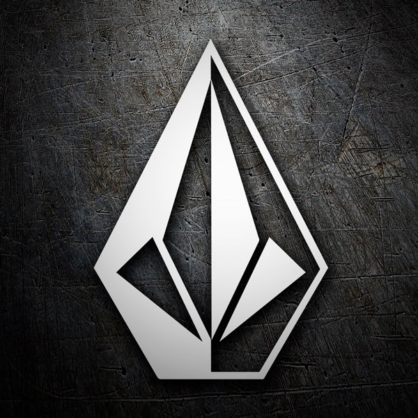 Car & Motorbike Stickers: Volcom