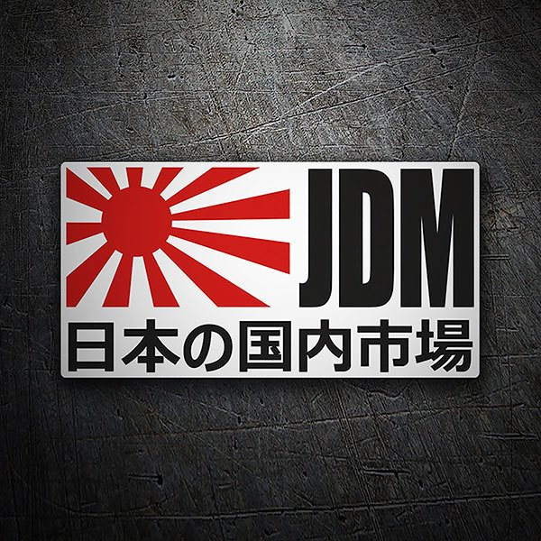 Car & Motorbike Stickers: JDM H&R Sportkit