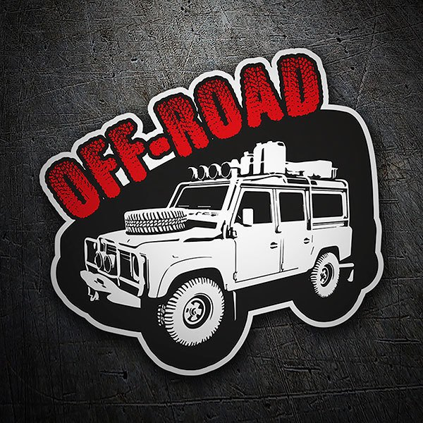 Car & Motorbike Stickers: Off-Road