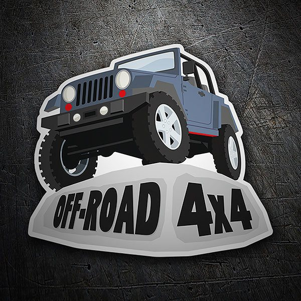Car & Motorbike Stickers: Off-Road 4x4