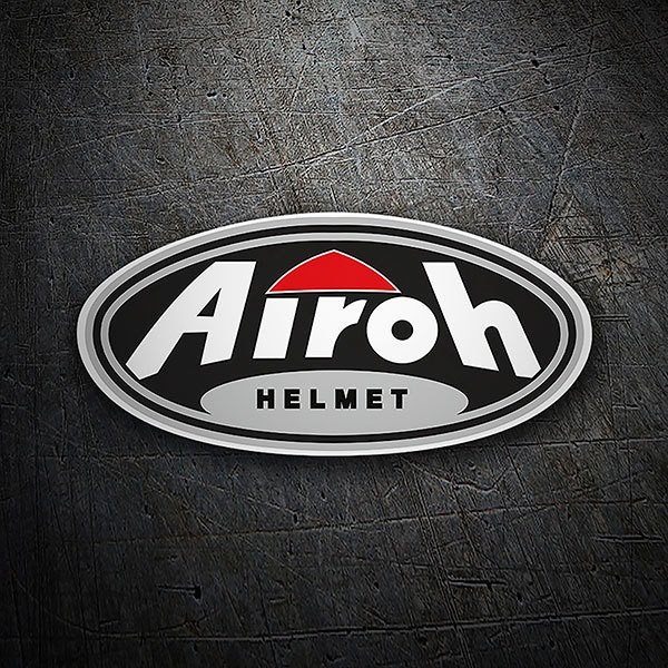 Car & Motorbike Stickers: Airoh Helmet