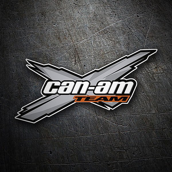 Car & Motorbike Stickers: Can-am Team