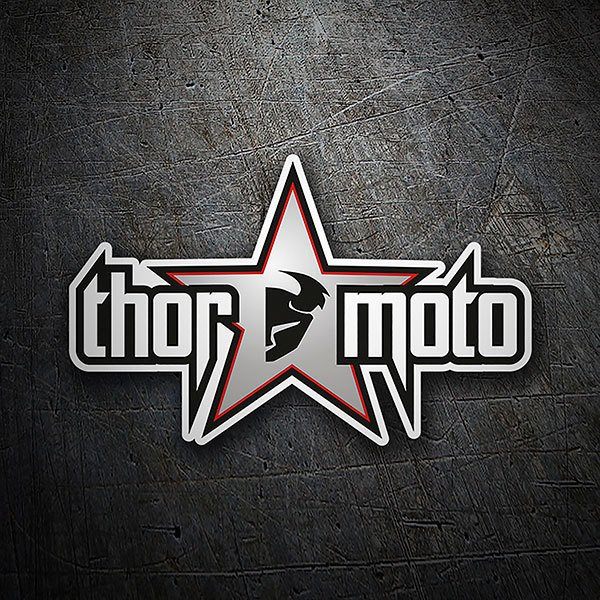 Car & Motorbike Stickers: Thor moto