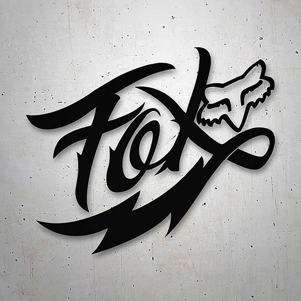Car & Motorbike Stickers: Graffiti Fox