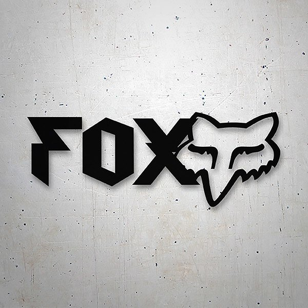 Car & Motorbike Stickers: Fox Racing Heavy
