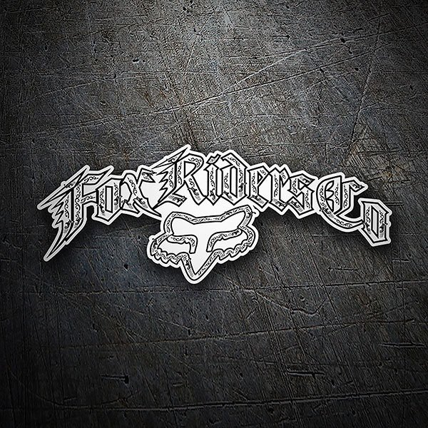 Car & Motorbike Stickers: Fox Riders Company