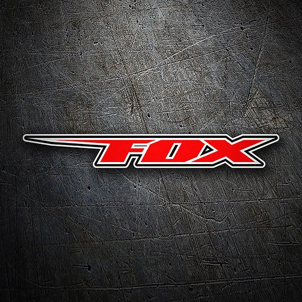 Car & Motorbike Stickers: Fox Racing Sport