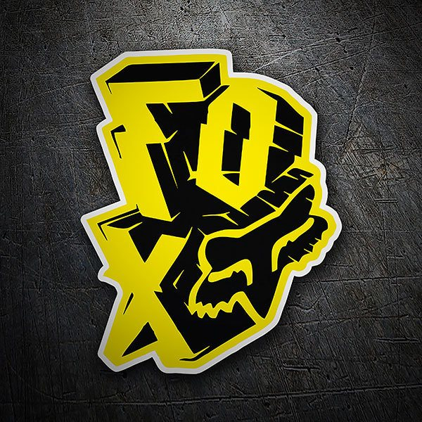 Car & Motorbike Stickers: Fox Racing Explosive
