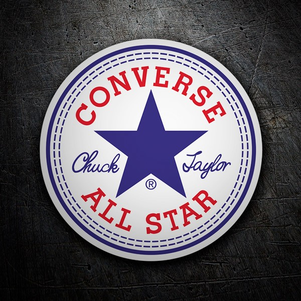 Car & Motorbike Stickers: Converse All Star