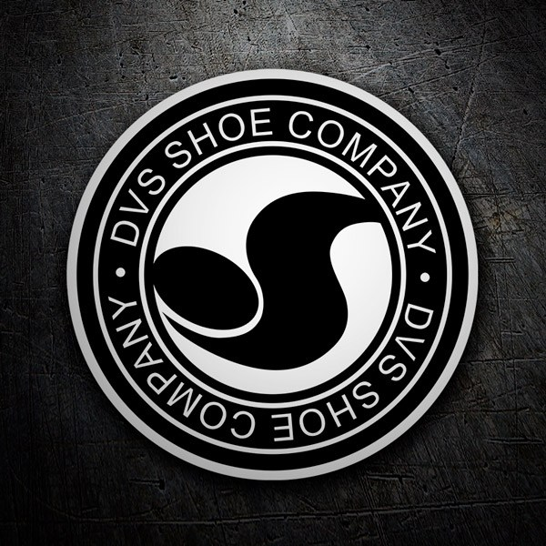 Car & Motorbike Stickers: DVS Shoe Company