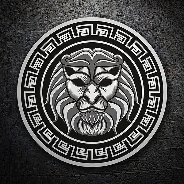 Car & Motorbike Stickers: Emblem of the Lion of Nemea