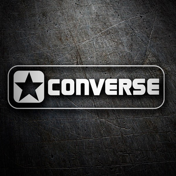 Car & Motorbike Stickers: Converse