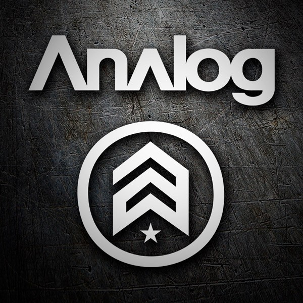 Car & Motorbike Stickers: Analog