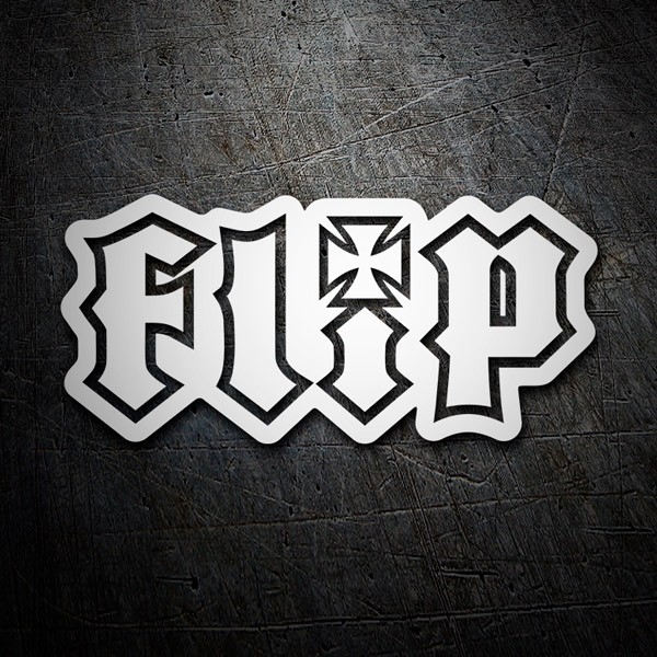 Car & Motorbike Stickers: Flip classic