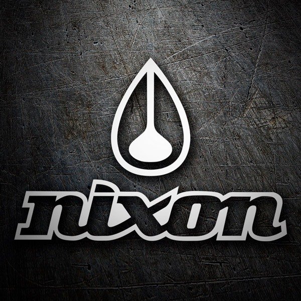 Car & Motorbike Stickers: Nixon classic