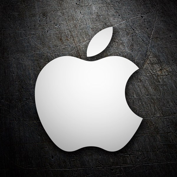 Car & Motorbike Stickers: Apple Logo